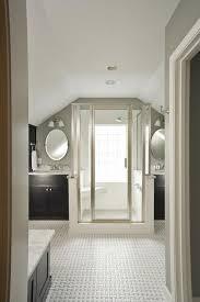 suzie renewal design build master bathroom with vaulted ceiling