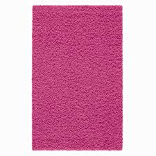 Round Pink Rugs by Your Zone Solid Shag Rug Available In Multiple Sizes And Colors