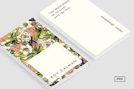 floral business card earthy floral business card template business card templates
