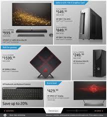 black friday gaming desktop black friday 2016 hp ad scan buyvia