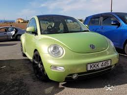 volkswagen beetle green volkswagen beetle 2000 hatchback 2 0l petrol automatic for sale