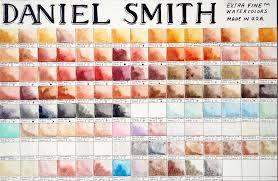 daniel smith chart png 1440 942 paints pinterest art