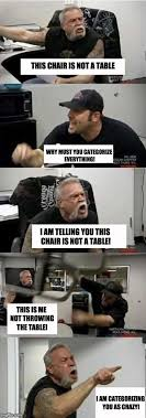 Meme Throws Table - american chopper argument imgflip