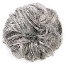 ladies hair pieces for gray hair hair extensions clip on ponytails and chic updo hairstyles