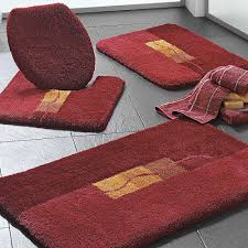 Bathroom Rugs And Accessories Bathroom Maroon Bath Mats Color Idea Modern Accessories