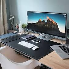 Cool Computer Setups And Gaming Setups by Awesome Home Office Desk Setup Pc Setup Office Setup Desk Setup