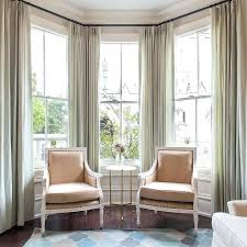 Height Of Curtains Inspiration Half Height Curtains Best Bay Window Curtains Ideas On Bay Window