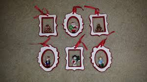 picture frame tree ornaments lights decoration