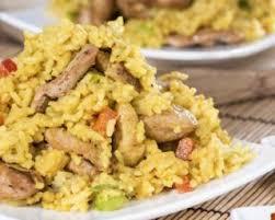 comment cuisiner du riz recette de riz de konjac sauté au poulet poivrons et piment doux