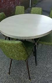 chromcraft table and chairs vintage chromcraft kitchen table 6 chairs 1 leaf retro mid century