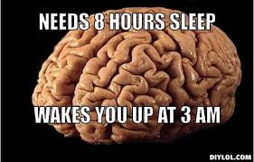 Scumbag Brain Meme Generator - sleep is the one thing we all love stuck in the past memes