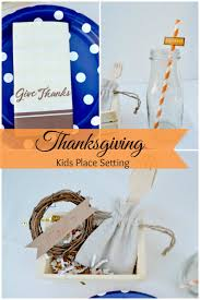 easy thanksgiving decorations to make easy kids thanksgiving place setting