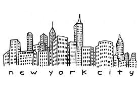 image gallery nyc skyline outline drawing