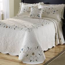 Bedspreads King Bed U0026 Bath Awesome Patchwork Quilted Bedspreads For Bedroom
