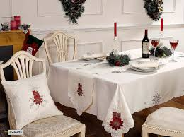 tablecloths inspirational large christmas tablecloths and runners