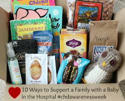 hospital gift basket 10 ways to support a family with a baby in the hospital chd
