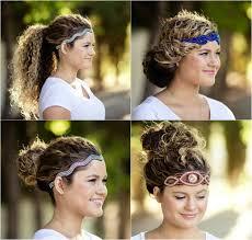 Frisuren Selber Machen Haarband by 40 Frisuren Für Naturlocken Zum Selbermachen Mit Anleitung