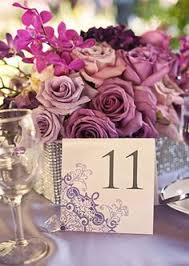 Purple Flower Centerpieces by Table Centerpiece Red And Purple Flower Arrangement For Wedding