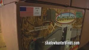 Deer Blind Elevators Diy Elevated Blind Using Elevators Youtube
