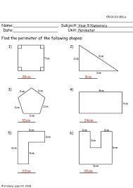 math perimeter worksheets worksheets