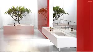 designer bathroom wallpaper marvelous and white themes ideas in modern bathroom added