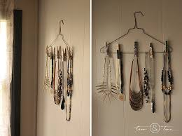 necklace holder diy images Diy jewelry holder with stuff you already have tico tina jpg