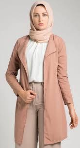 blazer wanita muslimah modern contoh baju blazer wanita muslim semi formal jpg 320 590