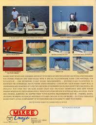 mckee craft boats factory original equipment oem canvas