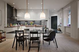 contemporary open floor plans contemporary open floor plan apartment in stockholm 4betterhome