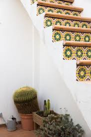 tour a colorful spanish home with a dreamy terrace spanish house