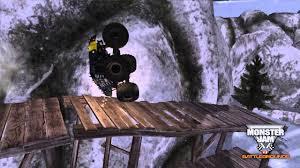 monster trucks video games monster jam battlegrounds stunt mode preview youtube