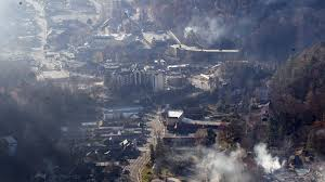 Gatlinburg Map Gatlinburg Photos Before And After The Fire Cnn