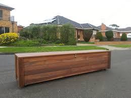 Outdoor Storage Bench Merbau Bench â U201e Storage Box Melbourne Outdoor Dining Furniture
