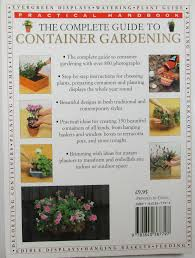 complete guide to container gardening practical handbook