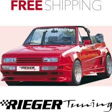 volkswagen scirocco 1990 rieger gfk fits vw scirocco gto front bumper 18011 ebay