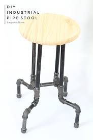 Steampunk Bar Stools Diy Industrial Pipe Stools Pipes Stools And Industrial