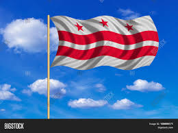 Washington Dc Flag Flag District Columbia American Image U0026 Photo Bigstock