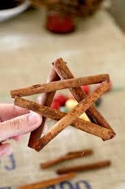 how to make a cinnamon stick star ornament