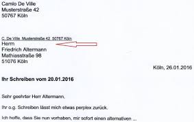 how to write formal letter in german language cover letter templates