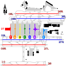 atlanta airport floor plan hartsfield jackson atlanta international airport wikipedia