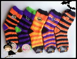 funny fuzzy with embroidery socks for halloween costume buy