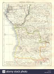 Angola Map French Equatorial Africa Belgian Congo Angola Spanish Guinea Gabon