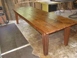 how to taper 4x4 table legs primitivefolks rustic pine farm tables country harvest tables