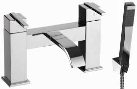 epi007 epic bath shower mixer tap chrome with shower head u0026 hose