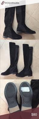 ugg australia danae leather chocolate ugg danae stretch back the knee boots authentic ugg