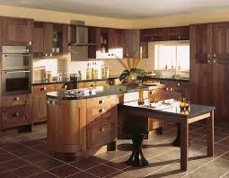 Kitchen Awesome Walnut Kitchen Cabinets Modern Black Walnut