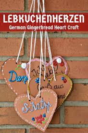 lebkuchenherzen german gingerbread heart craft mad in crafts
