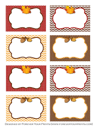 thanksgiving labels thanksgiving buffet table cards 000 page 1 jpg 2550 3300