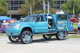 cadillac escalade trucks 2002 cadillac escalade ext on asanti wheels rides magazine