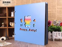 photo albums for couples hot 16 inch wooden baby diy autograph album growth couples